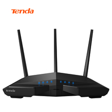Tenda AC18 WiFi Router With USB 3.0 AC1900 Smart Dual Band Gigabit Wi-Fi Repeater Remote Control APP English/European Firmware(China)
