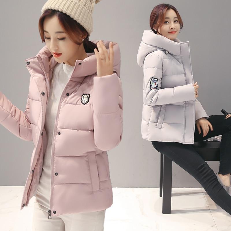 Cheap wholesale 2017 new Autumn Hot selling fashion casual warm Winter women jackets female cute bisic coats doudoune femmeОдежда и ак�е��уары<br><br><br>Aliexpress