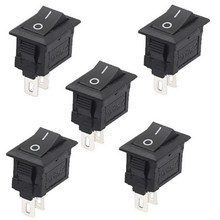 5Pcs/Lot High Quality 2 Pin Snap-in On/Off Position Snap Boat Button Switch 12V/110V/250V T1405 P0.5(China)