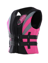 2017 Neoprene Foam Swim Vest Women's Surfing Life Vest Adult Swimwear Drifting Life Jacket for Woman Swimming Survival Jackets(China)