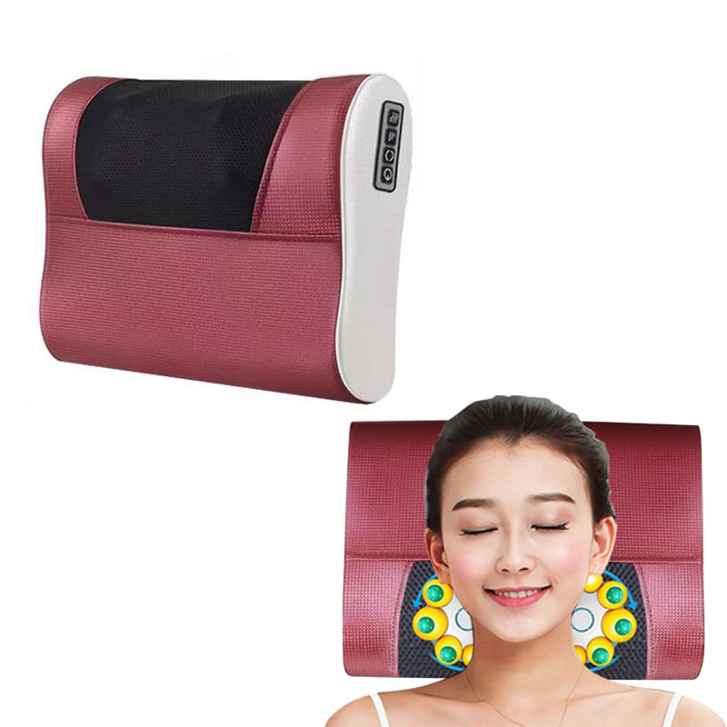 New multi-functional cervical massage body waist electric pillow shoulder back neck cushions massager<br>