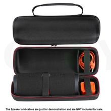 Carry Travel Protective Cover Portable Case Pouch Bag For JBL Charge 3 Charge3 Bluetooth Speaker Extra Space For Plug & Cables