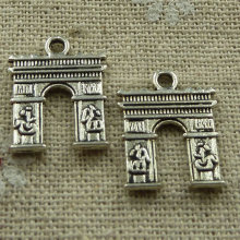 180 pieces tibetan silver nice charms 18x14mm #2369