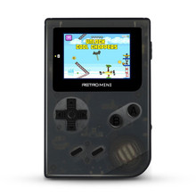 Retro Mini Handheld Game Console Built-in 36 Classic for GBA Games Support TF Card Download Video Music E-book Best Kids Gift(China)