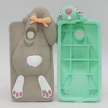 Lumia 630 635 Bunny Rabbit Silicone Soft Case For Micorsoft Nokia Lumia 630 635 636 638 Back Cover Phone Cases ShockProof