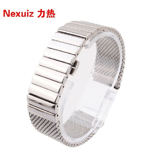 Watch Accessories,High quality Silver Stainless Steel Watchbans  20/22mm straps free shipping<br>