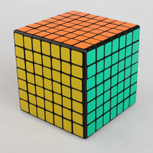 Shengshou Game Speed Twist  7x7x7 Magic Cube Puzzle Square Cubo Magico 7x7 Grownups Speed Stiker Cube Toys