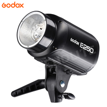 Godox E250W Photography Studio Flash Speedlite Light Pionee Series AC110/ 220V input Power Max 250WS with Lamp Bulb