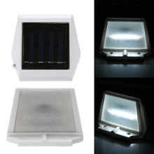 4 LED Solar Light Panel Powered Emergency Led Lamp Energy Saving Wall Lamp Solar Security Lights for Garden Path Yard