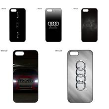 Accessories Hard Skin For Audi A3 A4 A6 B6 Custom Printed Logo For iPod Touch 4 5 6 Apple iPhone 4 4S 5 5C SE 6 6S 7 8 Plus X(China)
