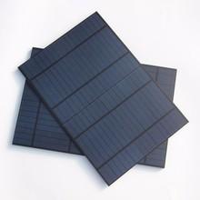 PET 10W 18V Solar Panel Solar Modul Polycrystalline Grade Solar Cell 12V Battery Charger 318x215MM 2pcs/lot Free Shipping