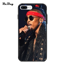 Pop August Alsina For Iphone 7/7plus Case Printed Hard PC&TPU Plating Button Glaze Covers For Iphone 6/6s/6plus/6s Plus
