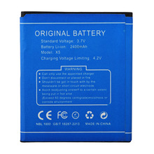 High Quality Battery For DOOGEE 2400mah Replacement Cell Phone Battery For DOOGEE X5 X5 Pro Rechargeable Backup Battery Bateria(China)