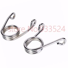 "Chrome 2.5"" Custom Torsion Solo Seat Springs for Harley Chopper motorcycle Pair(China)"
