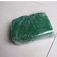 Natural 900g bag dry real green moss decorative plants vase artificial turf silk Flower accessories flowerpot decoration