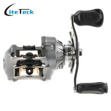High Quality Left Right Hand Aluminum Fishing Reels Water Drop Wheel 9+1BB 6.3:1  Baitcasting Reel