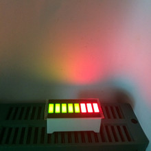 5pcs LED Bargraph Display 8 Segment LED Numbers Programmable LED Sign Bar-Graph 8Bars Cube Screens Board Bi-color Green&RED 5G3R