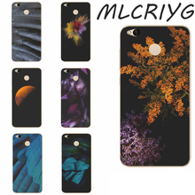 For Xiaomi Redmi 4 X Phone Fashion Colorful landscape Flower Flora Painted Cute Pattern Clear Soft TPU Silicone Case A008(China)