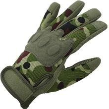 Super fiber outdoor climbing downhill tactical gloves Paratroopers training protective gloves 1 set good quality