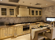 Foshan furniture factory high quality solid wood kitchen cabinets furniture buying agent(China)