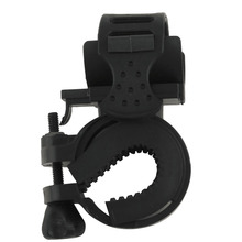 360 Degree Cycling Bike Mount Holder for LED Flashlight Torch Clip Clamp free shipping(China)