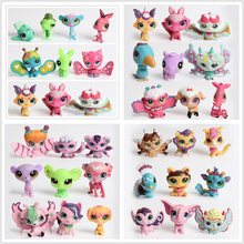 2016 Fashion Kawaii Lps littlest Pet Shop Pet Q Doll Mini Animal Toys Cartoon Anime Action Figure Brinquedos Collection for kids(China)