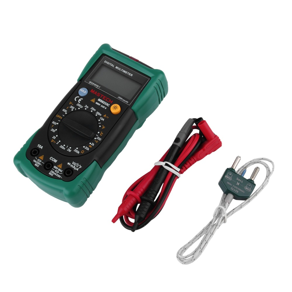 Handheld Multimeter Tester Diodes Electrical LCD Screen Display &amp; Backlight Free Shippnig Brand New<br><br>Aliexpress