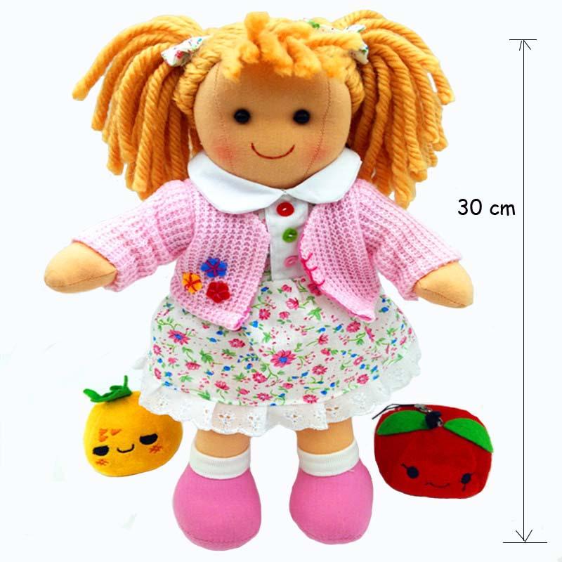 cloth baby doll rag 1