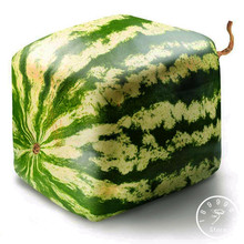 Loss Promotion!50 Seeds/Pack Rare Simple Geometric Square Watermelons Seeds Delicious Chinese Fruit Water Melon Seeds,#LOA6HO(China)