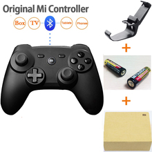 100% Original Xiaomi Mi Wireless Bluetooth Game Handle Controller Remote GamePad For Smart TV PC+2 batteries + retail box+holder