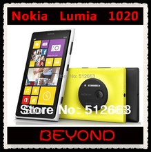 Nokia Lumia 1020 Original Unlocked GSM 3G&4G Windows Mobile Phone 8 4.5'' 41MP WIFI GPS RAM 2GB 32GB Internal Storage(China)