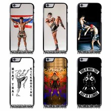 Thailand Muay Thai Cover Case For Iphone 4 4s 5 5c 5s se 6 6s 7 8 plus x xiaomi redmi note oneplus 3 3T 4X 3s(China)
