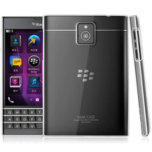 For Blackberry PASSPORT Q30 Tomoral Crystal Clear Cover Dotted Slim Fit Clear Back Soft TPU Protective Case