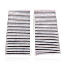 New Replacement 2x Cabin Air Filter Fits For Benz 1648300218 A1648300218 A164830021864 Motorcycle Air Filters Systems