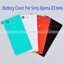 Rear Back Glass Battery Housing Door Cover Case for Sony Xperia Z1 L39h/Z2 L50w D6502 D6503/Z3 L55t L55W/Z3 Compact Z3 Mini M55W