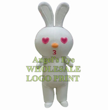 white bunny mascot costume white rabbit custom cartoon character cosplay adult size carnival costume sw3332