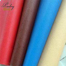 PanlongHome 1yard Leather Fabric For Wallet Handbags Shoes Leatherette Textile Upholstery Fabric For Sofa Pu Leather Material(China)