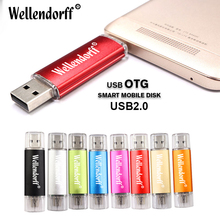 High Speed 2 in 1 OTG USB Flash Drive 64gb 32gb Pen Drive 16gb 8gb 4gb 512M Pendrive Micro USB Stick for Android Mobiles & PC