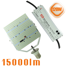 400W HID Equivalent AC180~528V input LED retrofit kits 120W 347V 480V LED Street pole light fixture