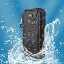 EIKE NEW Waterproof Solar Power Bank 10000mah Dual USB Li-Polymer Solar Battery Charger Travel Powerbank for all phone