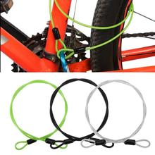 Cable Lock 1m x 2mm Cycling Sports Stainless Steel Cable Bicycle Lock Security Loop Cable Bicycle Scooter Lock
