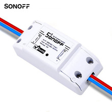 Sonoff Wireless Wifi Smart Switch APP Control Universal DIY Smart Home Automation Module Timer Smart Switch 10A/2200W