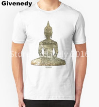 STONE'd BUDDHA T Shirts Men Print Hip Hop T-shirts O Neck Cotton Mens T shirts Free Shipping