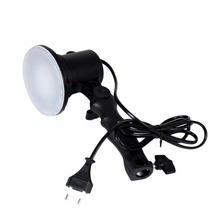 Handheld Portable LED Lamp Photography Studio Light Bulb US/EU Plug Bright For Portrait Softbox Fill Light Camera Lights EU(China)