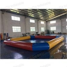New design giant inflatable pool float flamingo adult size swimming pool inflatable water pool(China)