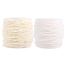 30M 50M Roll 3mm Pearls Beads Chain Garland Flowers Wedding Decoration DIY Craft Pearl String(Hong Kong)