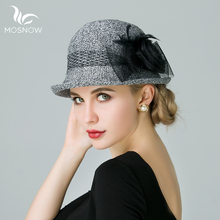 MOSNOW 2017 New Brand Summer Beach Women Hats Brim Hollow Lace Flowers Ladies Sun Cap Casual Panama Lady Straw Hat Chapeau Femme