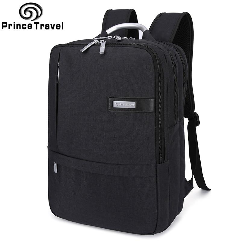 Prince Travel Unisex Men Backpack Oxford Black Women Rucksack School Backpack for Teenager Girls High Quality Mochila Feminina<br>