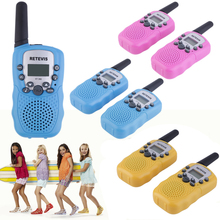 2pcs Kids RT-388 Walkie Talkie Toys Children 0.5W 22CH Two Way Wireless Portable Radio Transmitter Boys Girls Brithday Gift