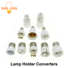 Lamp Holder Converters GU10 / G4 / G9 / MR16 / B22 / E14 to E27, E27 / GU10 / G9 to E14 Lamp Base.
